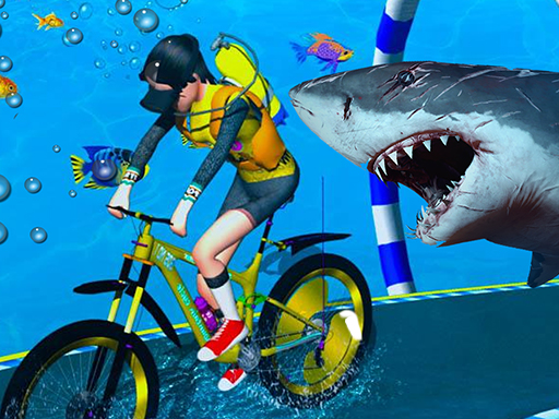 Under Water Bicycle Racing